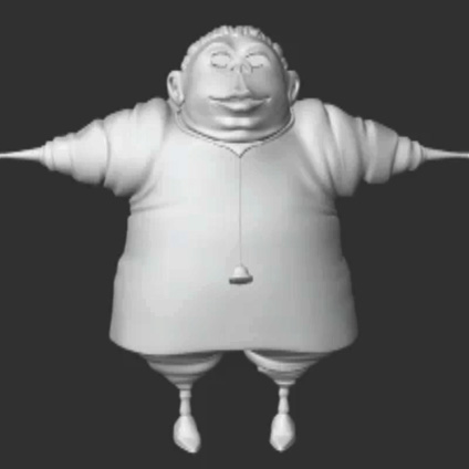Doc body 3D front